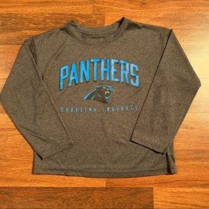 NFL Boys Carolina Panthers Long Sleeve Top